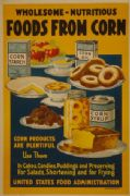 Vintage United States Food Administration Poster